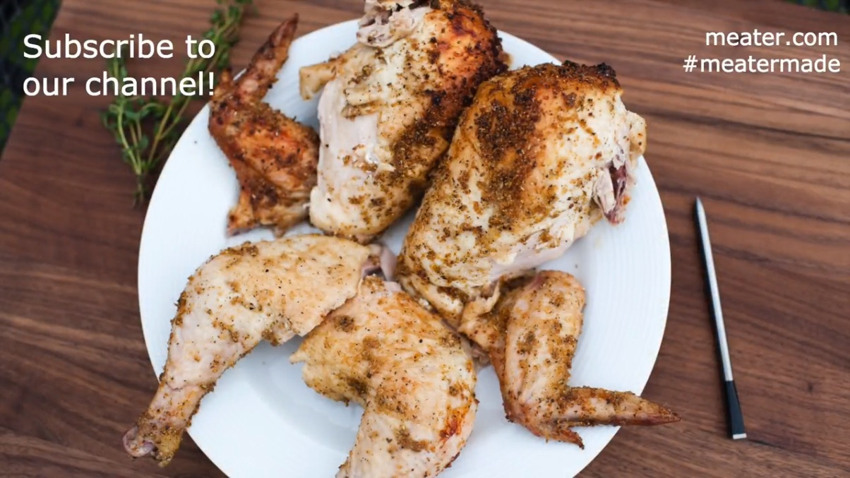 Easy Beer Can Chicken cooked with MEATER
